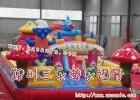 大型充气城堡气垫滑梯游乐世纪乐园迪士尼游乐园