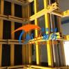 钢背楞建筑模板加固组件数字化组合拼装灌注不跑浆
