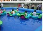 创业就选摇船水池  手摇船配水池夏天生意好 儿童泳池项目