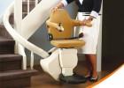 handicare单轨曲线座椅式电梯 英国原装进口楼道电梯