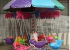 旋转飞鱼图片 广场儿童娱乐飞鱼 小宝宝坐的旋转飞鱼