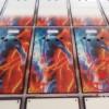 有机板uv彩喷加工 亚克力彩印  水晶板uv喷画打印