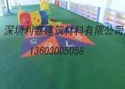 广东深圳儿童游乐场安全地垫 epdm橡胶地面