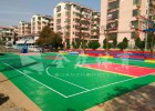 全众体育悬浮式拼装地板 聚丙烯材料悬浮地板