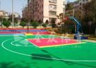 全众体育悬浮式拼装地板 石家庄户外运动环保地板