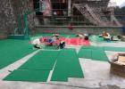 聚丙烯材料悬浮式拼装地板 全众体育室外运动地垫