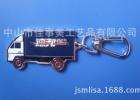 生产订制款 3D钥匙扣,新颖钥匙扣,设计独特德邦大卡车钥匙扣