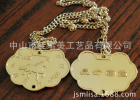 客户定做款纪念币 供应出生纪念币 马年带链条出生纪念币