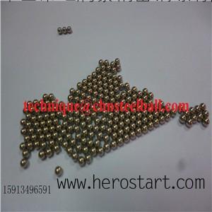 供应广东HRT1.0mm精密Cu62材质超精密铜球Br235