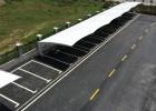 设计裁剪张拉膜车棚膜布、建筑景观膜布 骏阳球场膜布安装