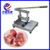 热销实用排骨机 切猪骨机 手动切鱼切鸡设备