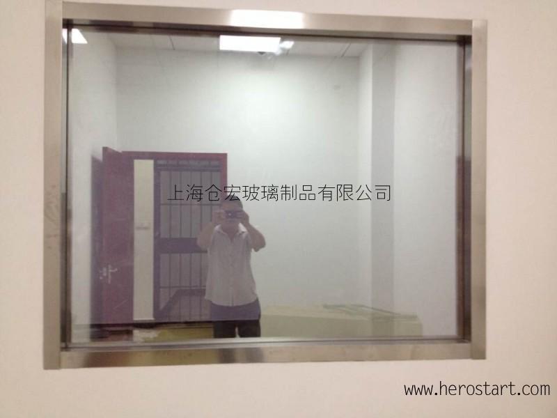 辨认室12mm单向透视玻璃